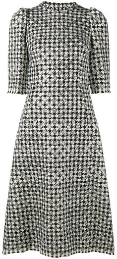 8a1f0d3d4761 Dolce   Gabbana houndstooth polka dot dress