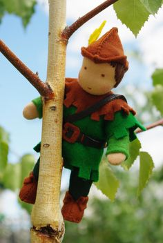 Hey, I found this really awesome Etsy listing at https://www.etsy.com/listing/225565916/robin-hood-waldorf-doll-original-gift