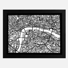 London Cut Map