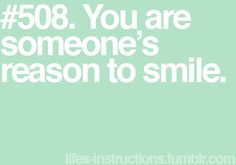 So smile when you see yours, too. :)