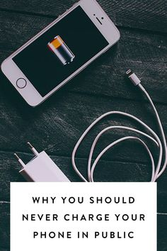 Why You Should Never Charge Your Phone in Public  via @PureWow