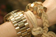 hex nut diy bracelet