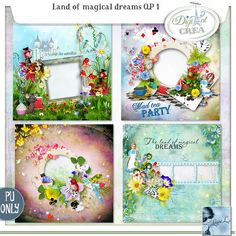 Land of magical dreams QP 1 (PU) by Louise L