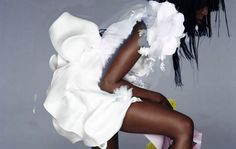 Nick Knight the photographer -- V Magazine, couture, Naomi Campbell, Autumn/Winter, 2007