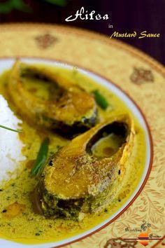 Bengali Hilsa in Mustard Curry