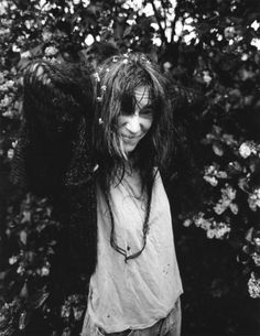 """""""I shot this while staying with her for a few days at her house in Grosse Point Shores. Fred """"Sonic"""" Smith had just died and she was just st..."""