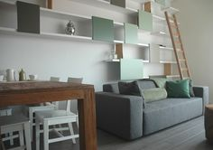 Apartment in Eindhoven by Ontwerpduo, Tineke Beunders and Nathan Wierink   #hometour #interior #dutchdesign #design #green