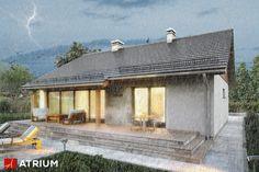 Projekt Roy II - elewacja domu