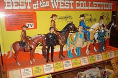 Best of the West vintage toy collection