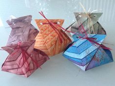 Cute origami boxes
