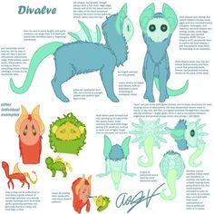 Divalve (open species) by Dragimal.deviantart.com on @DeviantArt