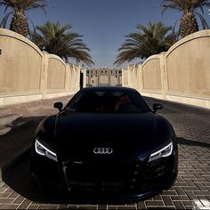 What a killer face! #Audi