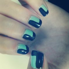 I would use tape. Like the pop of color and straight lines