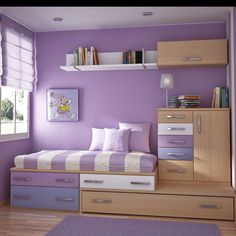 Love going up but bed not too high. Maybe build or build using stackable closet/storage drawers?