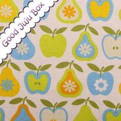 """""""Äpfel und Birnen"""" Wendelin Kiwi von Good Juju Box auf DaWanda.com"""