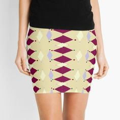 Knitted Fabric, Mini Skirts, Abstract, Printed, Awesome, Fashion Design, Art, Products, Summary