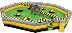 Toxic Meltdown is Party Perfect Rentals 8 player action game, which challenges your stamina, agility and reactions. New Jersey, New York, and PA party rentals! Beach Party Games, Kids Party Games, Games For Kids, Ten Games, Inflatable Bounce House, Bounce House Rentals, Skee Ball, Field Day, Game Sales