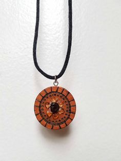 Burns crystal handcrafted in scotland coventry etched burns citrine and garnet wood burned crystal flower pendant necklace aloadofball Gallery