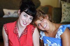 Laura & Megan's Bright Vintage Inspired Apartment