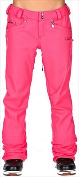 BEST TIME TO GET WINTER ATTIRE... SPRING SUMMER! Volcom SPECIES STRETCH Womens Snowboard & Ski Pants, S, Pink