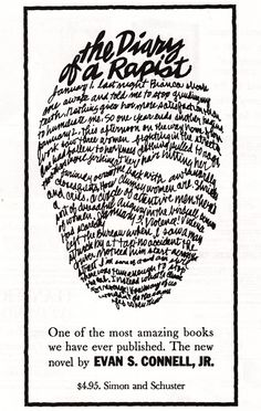 First ads for famous books