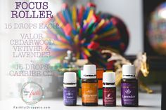 Focus Roller - Young Living Essential Oils - Drops of Faith - Faithful Droppers - Urso Photography