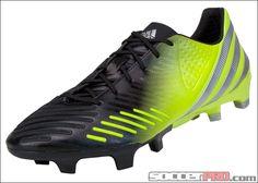adidas Predator LZ TRX FG Soccer Cleats - Black with Lab Lime...$164.99