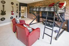 kids room idea - very cool hangout!    HD Visual Solutions - Professional Real Estate Tours - Movie Tours