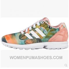 super popular afe3f 7e998 Adidas Zx Flux Women Sunset Lotus Orange Online T6mwN, Price   74.00 -  Women Puma Shoes, Puma Shoes for Women