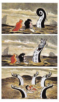 lost storyboards little mermaid #disney