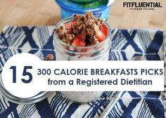 healthy breakfasts 300 calories