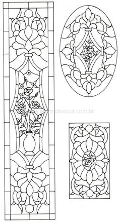 M2 Stained Glass Flowers, Stained Glass Crafts, Faux Stained Glass, Stained Glass Designs, Stained Glass Patterns, Glass Painting Designs, Paint Designs, Wooden Front Door Design, Stencil
