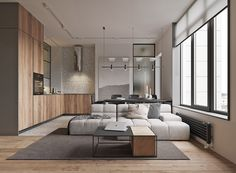 Classic Home Decor Small Apartment Interior, Apartment Design, Interior Design Living Room, Living Room Designs, Living Room Decor, Modern Interior Design, Interior Architecture, Deco Studio, Home Interiors And Gifts
