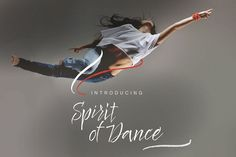 Spirit of Dance Font from FontBundles.net