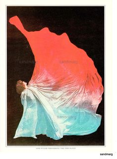 1895 Loie Fuller Fire Dance