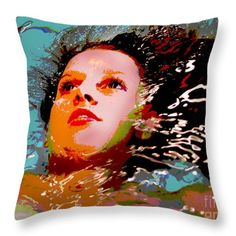 Throw Pillow featuring the photograph Poster Girl 4 by Randi Grace Nilsberg