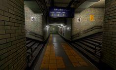 ArtStation - Subway Corridor, Nick Thompson