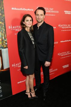 "Keri Russell and Matthew Rhys arrive ""A Beautiful Day In The Neighborhood"" Screening at Brookfield - Celebskart Hollywood Life, Hollywood Celebrities, Matthews Rhys, Keri Russell, Beautiful Day, The Neighbourhood, American, Play, The Neighborhood"