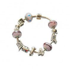 63,99 €  http://www.pariprix.com/pandora-cadeaux/silver-and-gold-charms-bleu-diy-bracelet-pandora-captivant.html