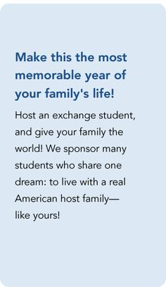 Aspect Foundation Student Exchange Is A Non Profit Organization Find Out How To Be Host Family Or International