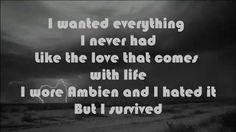 Alive-Sia (lyrics) - YouTube