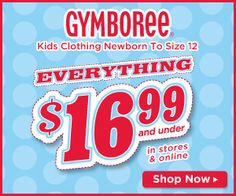 Sorting Baby Clothes and a Sale at Gymboree | Apron Strings & other things
