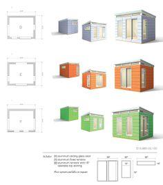 modern sheds - Google Search