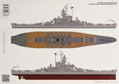 The Battleship USS Alabama Uss Oklahoma, Uss Alabama, Uss Massachusetts, Model Warships, Us Battleships, Scale Model Ships, Military Modelling, Military Helicopter, United States Navy
