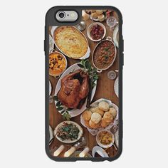 Holidays Thanksgiving Feast  - Classic Snap Case