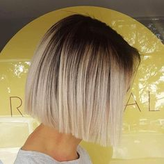Deep rooty ice blondes created using @wellapro. Fresh box bob cut and smooth style! #hairbynataleedavenport #sydneyhairsalons #precisioncutting #thehills #dural #wellaau #colourmelt #blondelife #iceyblonde #deeproots #rootstretch #blondecorrection #rootyblondes ##hairinspo #theradicalhairdesign #hairinspo #hairlife #instahair