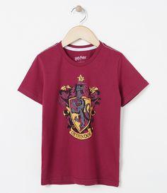 Camiseta infantil  Manga curta  Gola redonda  Com estampa   Marca: Harry Potter  Tecido: meia malha     COLEÇÃO INVERNO 2017     Veja mais opções de   camisetas infantis.