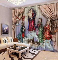 Wholesale cheap 3d curtain online, item type - Find best home decor curtain living room natural art curtains for living room europe style angel fashion 3d home decor beautiful at discount prices from Chinese curtain supplier - rose6688 on DHgate.com.