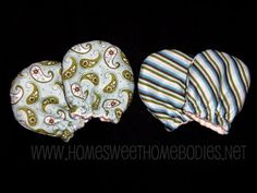 Infant scratch mittens: tutorial and pattern, sewing, diy, baby mittens, scratch mitts Baby Sewing Projects, Sewing For Kids, Sewing Tutorials, Sewing Crafts, Sewing Patterns, Sewing Diy, Crafty Projects, Fabric Crafts, Sewing Ideas