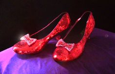 Custom Made Replica Ruby Slippers - Made to Order by RandysRubySlippers on Etsy https://www.etsy.com/listing/176050966/custom-made-replica-ruby-slippers-made